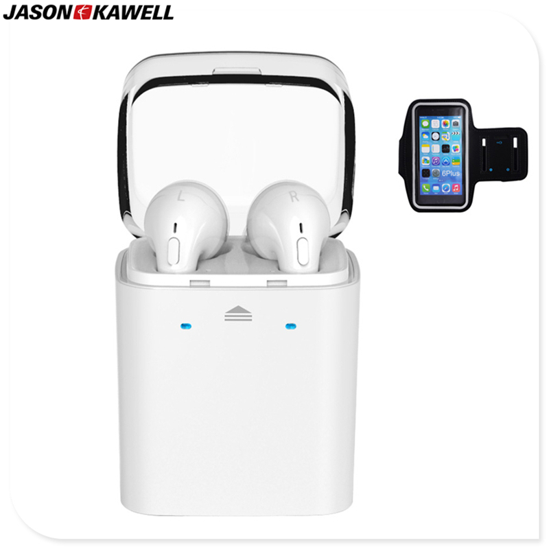 TWS GF7 Bluetooth Headset Wireless Earphone with Charging Case CVC Noise Reduction Case free shipping dental endodontic root canal endo motor wireless reciprocating 16 1 reduction