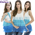 Emoção Mães Maternidade Roupa de maternidade Colete Top Camis Regatas gravidez Amamentação roupas Para Mulheres Grávidas Enfermagem