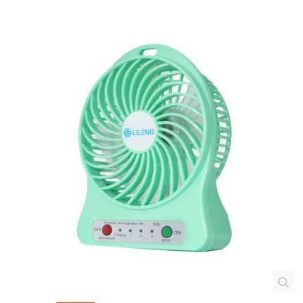 USB Mini Portable Stand Cold Battery Charging Small Banana Fan Office Fan  Student Dormitories Creative 830