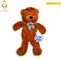 Dropshopping 180cm 71 inch Semi finished bear Skins plush teddy bear skin unstuffed plush toys 5 colors Free Shipping