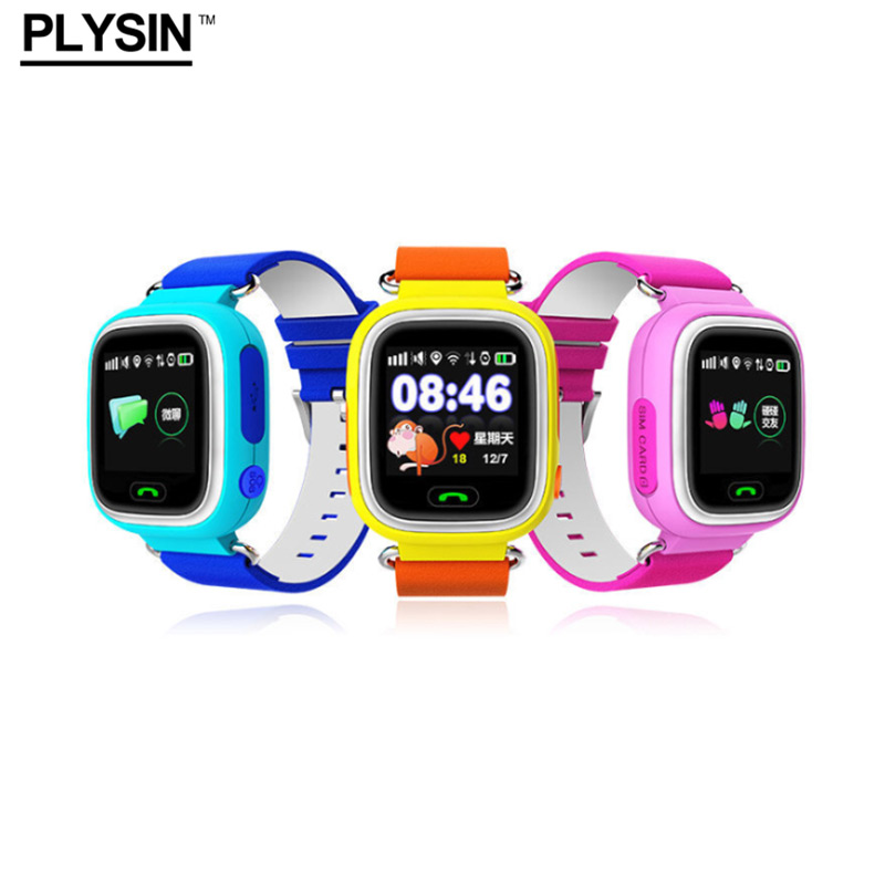 <font><b>Smart</b></font> <font><b>Watch</b></font> <font><b>kids</b></font> <font><b>Q90</b></font> with GPS Tracker WIFI SOS Call touch screen children location Device support iOS Android Made by PLYSIN image