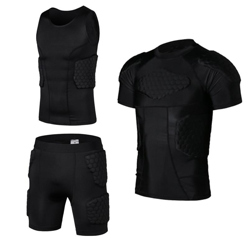 2019 YEL New Honeycomb Crashproof Lelaki Sukan Perlindungan Set Bola - Pakaian sukan dan aksesori - Foto 1
