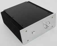 262*223*92MM Brushed aluminum amplifier Power chassis/WA5 Dense tooth radiator AMP power case