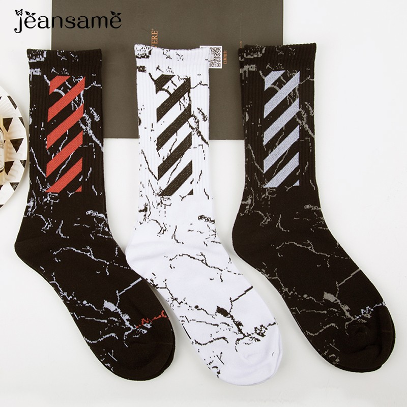 Winter Warm Wear White Socks Resistant Gift Cotton Camouflage Fashion Black Happy Crew Individuality Men Breathable Sox Brand