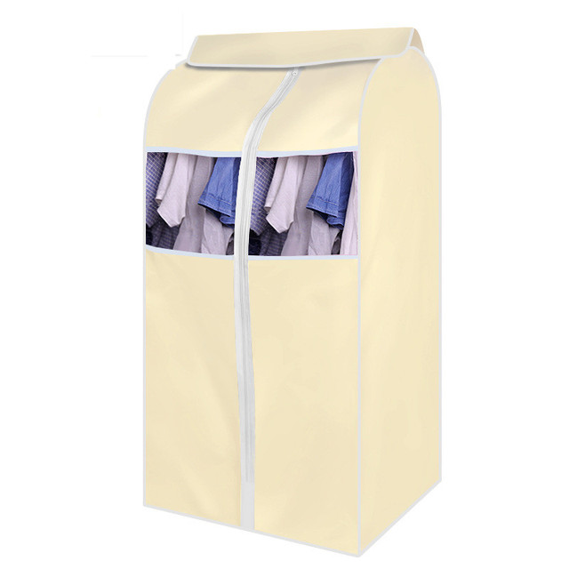 Large Capacity Cloth Hanging Suit Coat Dust Cover Protector Dustproof Wardrobe Storage Bag