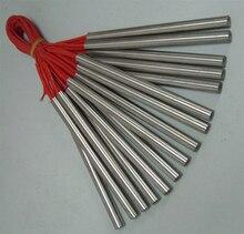 5 uds x calentador de cartucho 10*120 a 300 W; 10x10x150mm 300W 10*150 a 350 W; 10*200 de 450W de calefacción personalizado barras no estándar de personalización