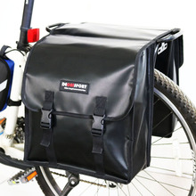 2018 Decaisport Waterproof MTB Mountain Road Bike Rear Tail Seat Trunk Bag Pannier Double Side Bag Cycling Bycicle Bag Carry Bag недорого