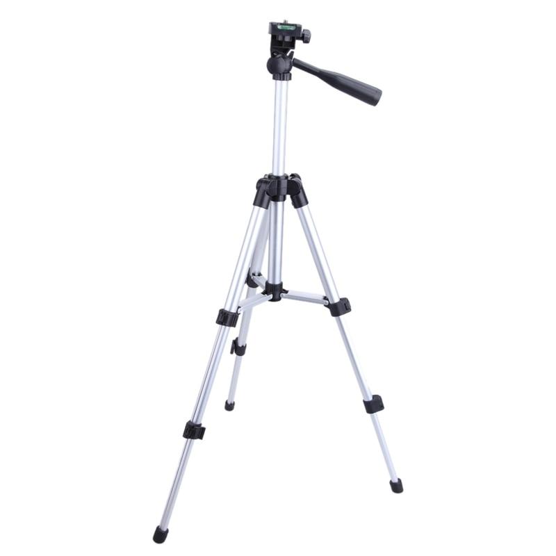 Trípode de cámara portátil desplegado (650mm) para teléfono con bolsa trípode Universal de alta calidad para cámara Olympus/teléfono móvil/tableta