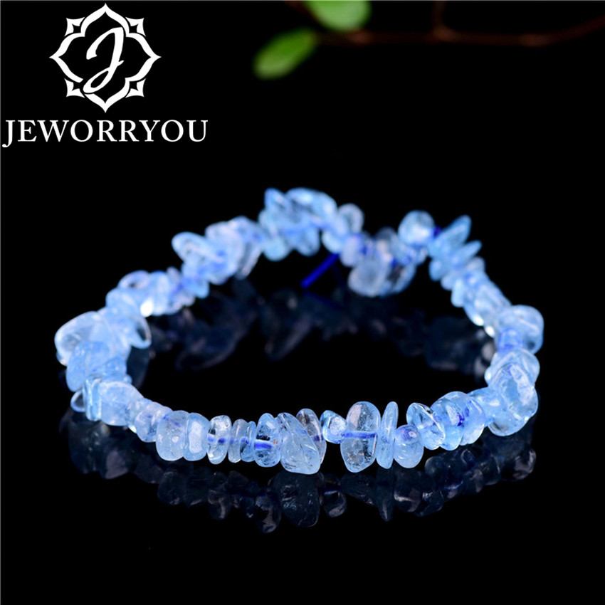 5*8mm Naural Citrine Bracelet Ladies Natural Aquamarine Stone Bracelets Femme Jewelry Charms Women Bracelets & Bangles