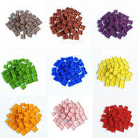 Craft Material Mosaic Tile Children Handmade Tiny Mini Micro Glass Crystal Free Stone Creativity DIY Hobbies