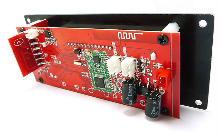 Image 4 - MP3 Decoding Board 4.0 Bluetooth Wireless Audio Module USB SD Radio APE FLAC WMA AUX External Signal Source Interference Board-in Integrated Circuits from Electronic Components & Supplies