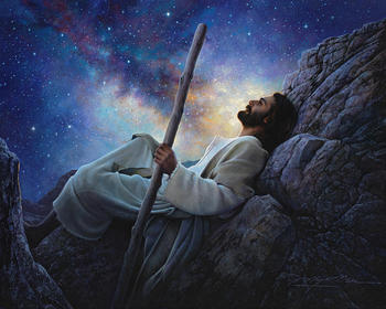 Paintings of Christ jesus Worlds Without End portrait art on canvas wall decoration High quality hand painted