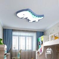 New Arrival Dinosaur Modern Led Ceiling Chandelier For Bedroom Children Kid's Room Home Dec Surface Mounted Ceiling Chandelier