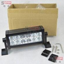 10pcs 12v combo beam led light bar 36w for atv suv offroad led bar led work light bar led 4×4 bar light