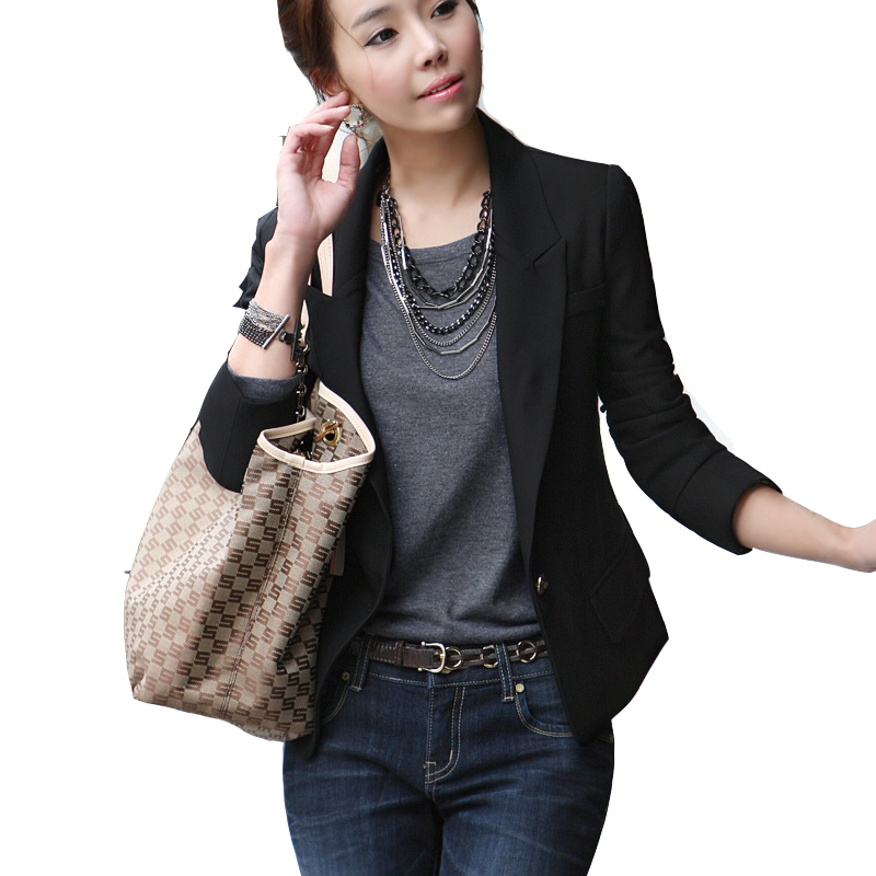 Online Get Cheap Womens Black Blazer -Aliexpress.com | Alibaba Group