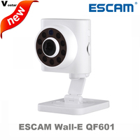 ESCAM QF601 1MP Wifi Mini Ip Camera Built In Miccrophone IR10m Motion Detector Email Alarm P2P