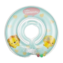 Thickened Baby Neck Float Inflatable Baby Neck Swim Ring Infant Swimming Circle Newborn Swim Trainer Swimming Pool Accessories