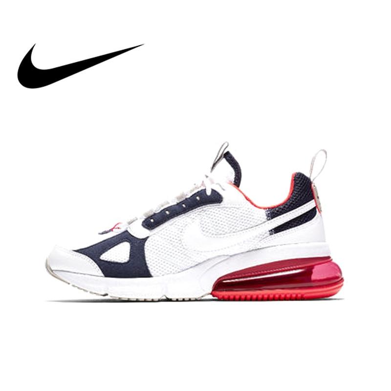 3b8f9f34 Оригинальный Nike Оригинальные кроссовки Air Max 270 женские кроссовки Спорт  на открытом воздухе хорошее качество дышащие Низкие Топ для отдыха .