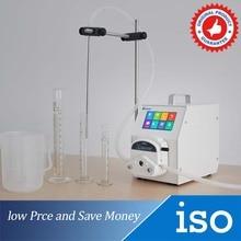 цена на High Quality Liquid Dosing Pump Portable Smart 0-1300ml/min Transfering Peristaltic Pump
