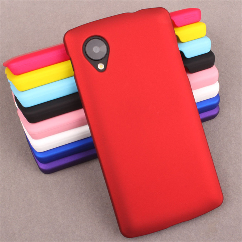 Coque For LG Nexus 5 Case Plastic Hard Ultrathin Frosted Shield Matte Case For Fundas LG Nexus 5 Cover Phone Cases Protective image
