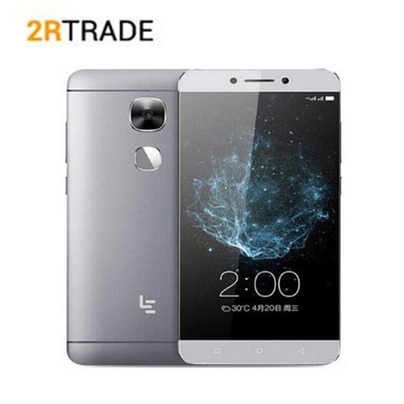 LeEco LeTV Le S3 X522 X526 Snapdragon 652 Octa Core 5,5 3 GB de RAM 32 GB ROM 4G LTE teléfono móvil 1080 p 16MP huella dactilar teléfono inteligente