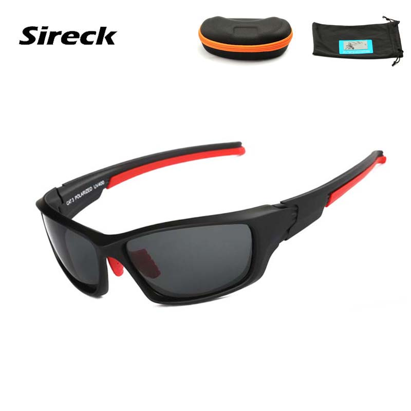 Sireck Polarized Cycling Glasses 2017 Outdoor MTB Road Pro Bike Eyewear Driving Fishing  ...
