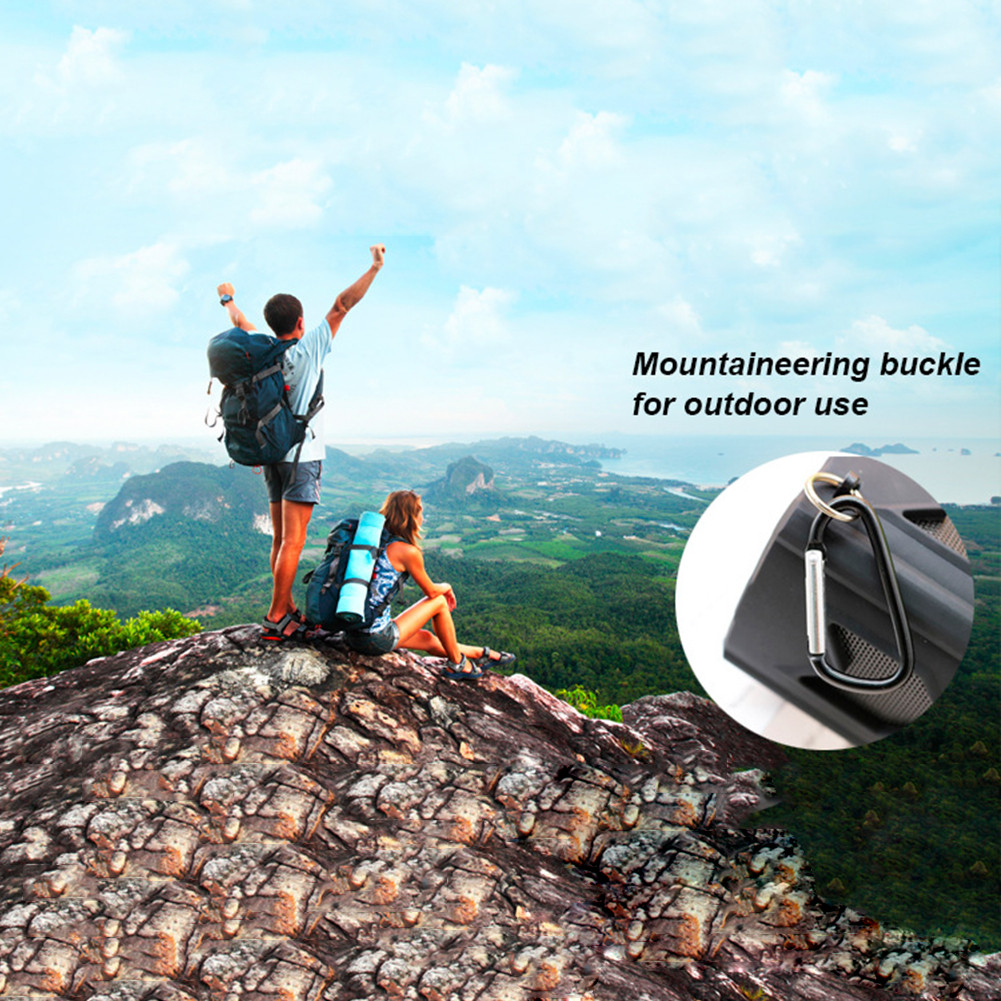 Outdoor Waterproof Bluetooth Speaker CSR-4.0 With NFC Function Emergency Charging Port Portable Audio And Video Equipment 9