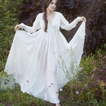 Gothic Casual Sweet High Waist Women Long Dress Loose Princess Sleeve Pullover