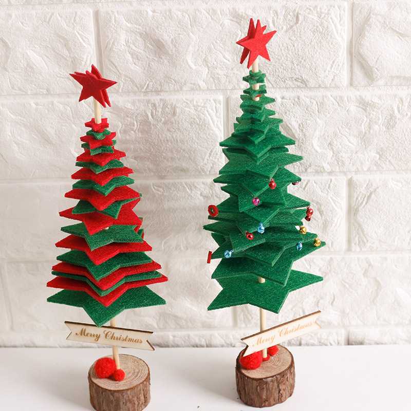 35cm Christmas Artificial Trees With Bells Gift Decor
