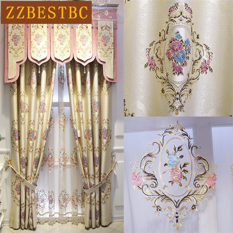 Cortinas de lujo de jacquard de lujo en toda Europa para sala de - Textiles para el hogar