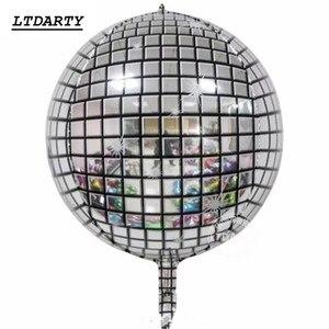 Image 5 - Globo de helio Disco 4D de 22 pulgadas, globo de aire de Color para cumpleaños y fiesta de boda, suministros de baño para bebé, globos decorativos, 20 Uds.