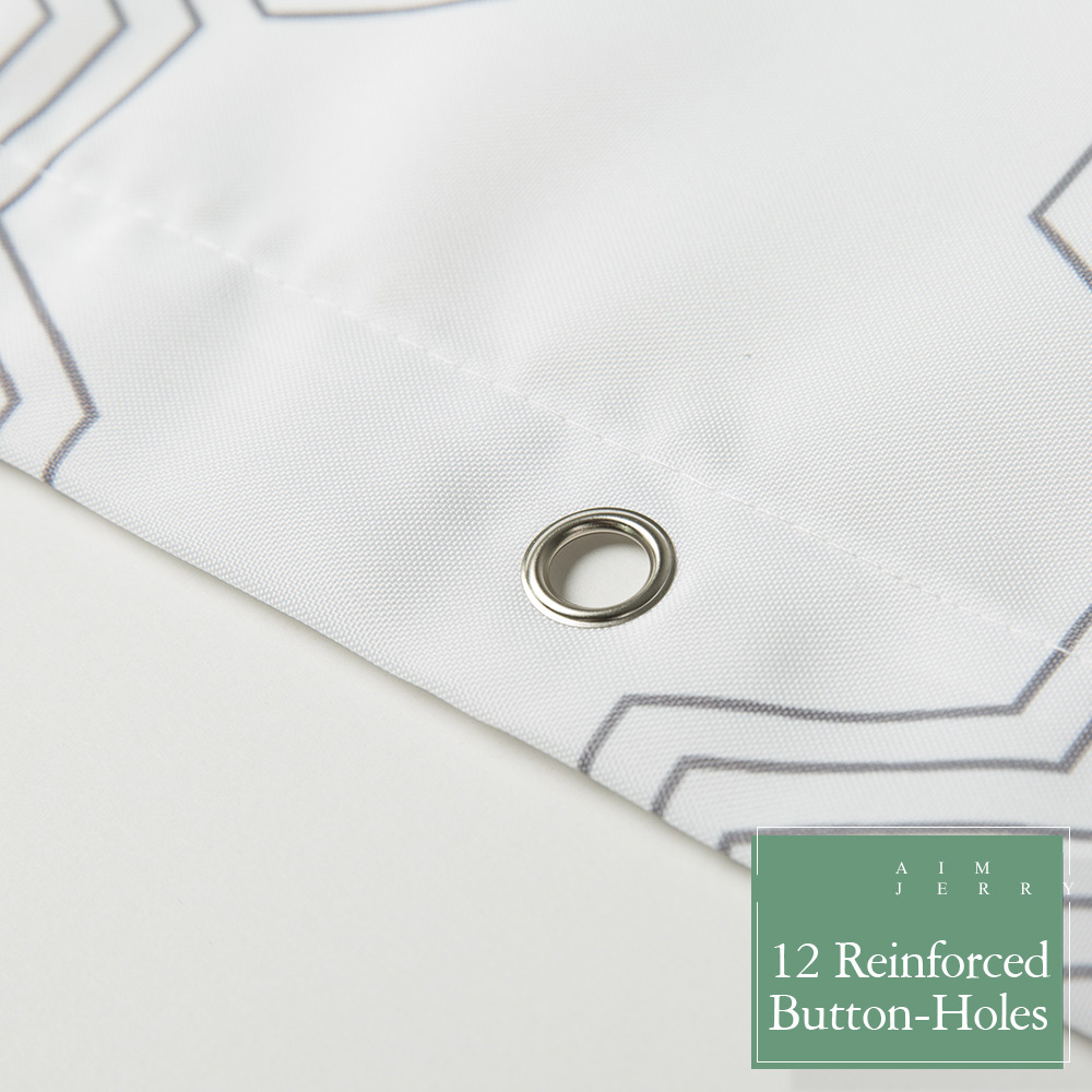 Aimjerry πράσινο φύλλα Custom Κουρτίνα ντους - Οικιακά είδη - Φωτογραφία 5