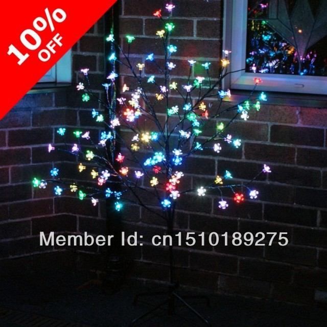 Christmas tree lights Outdoor Color Changing Led Blossom Tree 2e0af3447182