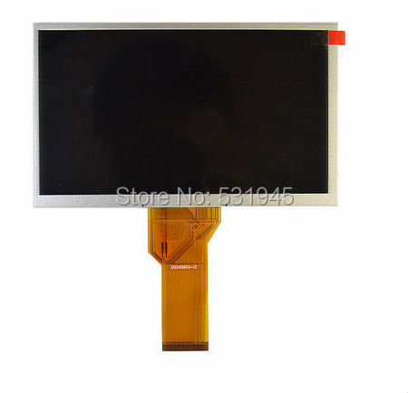 "AT070TN94  7"" inch tablet pc LCD display for innolux flex cable 20000600-12 LCD screen Free shipping 3MMthickness"