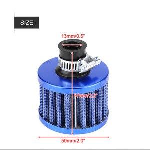 Image 5 - Комплект дыхательного фильтра 12 мм, воздухозаборный фильтр холодного воздуха, автомобильный двигатель, масло/воздух/индукция, Стайлинг автомобиля