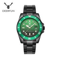 New Luxury Rolexable Brand 10 Colors Quartz Men Watch Calendar Waterproof Black Full Steel Strap watches relogio masculino