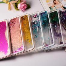 Liquid Glitter Bling Case for iPhone X Transparent Dynamic C
