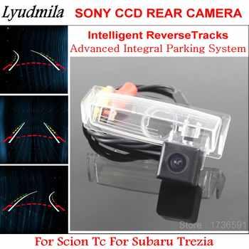 Lyudmila Intelligentized Reverse Kamera FÜR Scion Tc Für Subaru Trezia Fahrzeug Parkplatz Rück Kamera Flugbahn Guide Linien