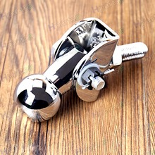 Stainless Freedom Pivot Tilt Ball Swivel Trailer Hitch Coupler For Harley&All Motorcycle