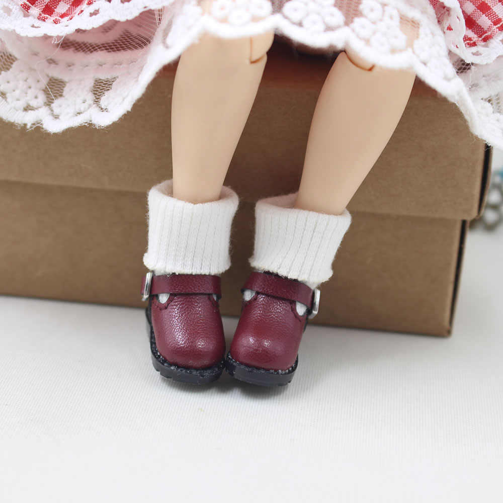 Дни Фортуны ледяная кукла 1/6 обувь дикие Милые Сапоги Для нео бледный ледяной куклы 30 см игрушки