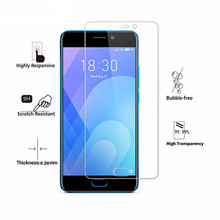 2PCS Screen Protector Glass Meizu M6 5.2 inch HD Tempered For Meilan 6 Protective Phone Film