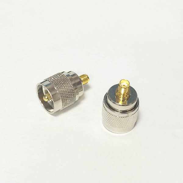 UHF  Male Plug  switch  SMA  Female Jack   RF Coax Adapter convertor  Straight  Goldplated  NEW wholesale 2pcs lot yt70b rp sma male plug switch sma female jack rf coax adapter convertor connector straight goldplated sell at a loss