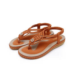 2019 новые летние женские сандалии, модная Повседневная Удобная женская обувь, пляж большого размера, сандалии для девочек