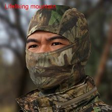 Military Tactical Hunting Kryptek Camouflage Motorcycle Balaclava Ghillie Suits mask Ninja Face Ski Mask(China)