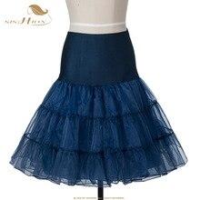 50S Retro Vintage Petticoat Tutu Skirt Pink White Black Red Women Ladies Tulle Skirts Organza Party Skirt Underskirt VD0134PI