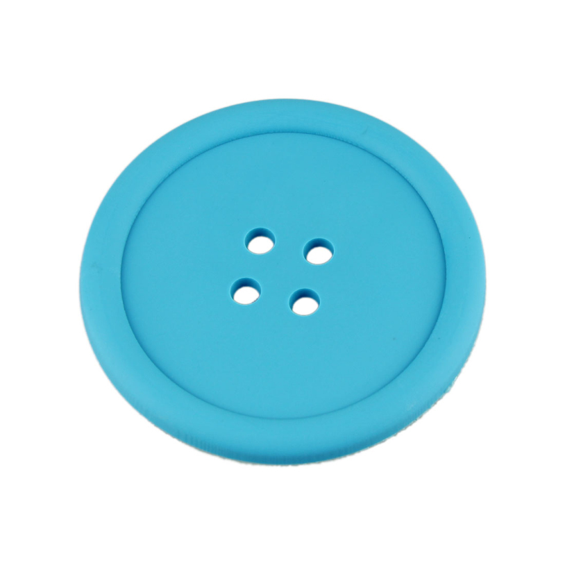 10 Pcs/ Pack New Arrival Home creative household supplies round <font><b>silicone</b></font> <font><b>coasters</b></font> <font><b>cute</b></font> button <font><b>coasters</b></font> Tea <font><b>Cup</b></font> <font><b>mat</b></font>