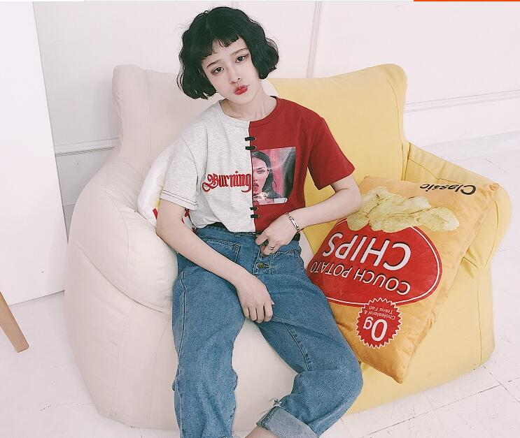 HTB17vFDQVXXXXahXpXXq6xXFXXX8 - Red/Black Burning Passion T shirt PTC 121