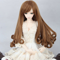 New Doll Accessories Brown Culry Doll Wigs For BJD Doll 1/3 1/4 1/6