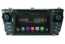 1024*600 Quad Core 2 din 7″ Android 5.1 Car dvd player for toyota Corolla 2014 2015 With Radio GPS 3G WIFI Bluetooth TV USB DVR