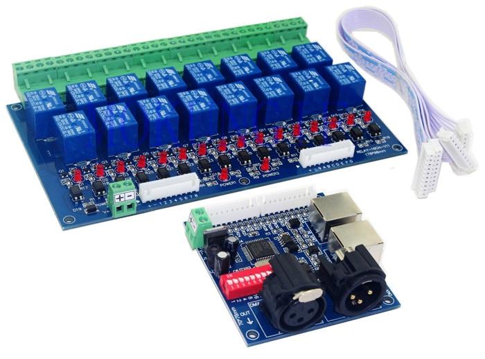 Shumo 12CH Relais Commutateur Dmx512 Contr?Leur DMX Commande de Relais D/éCodeur LED pour la Lumi/èRe